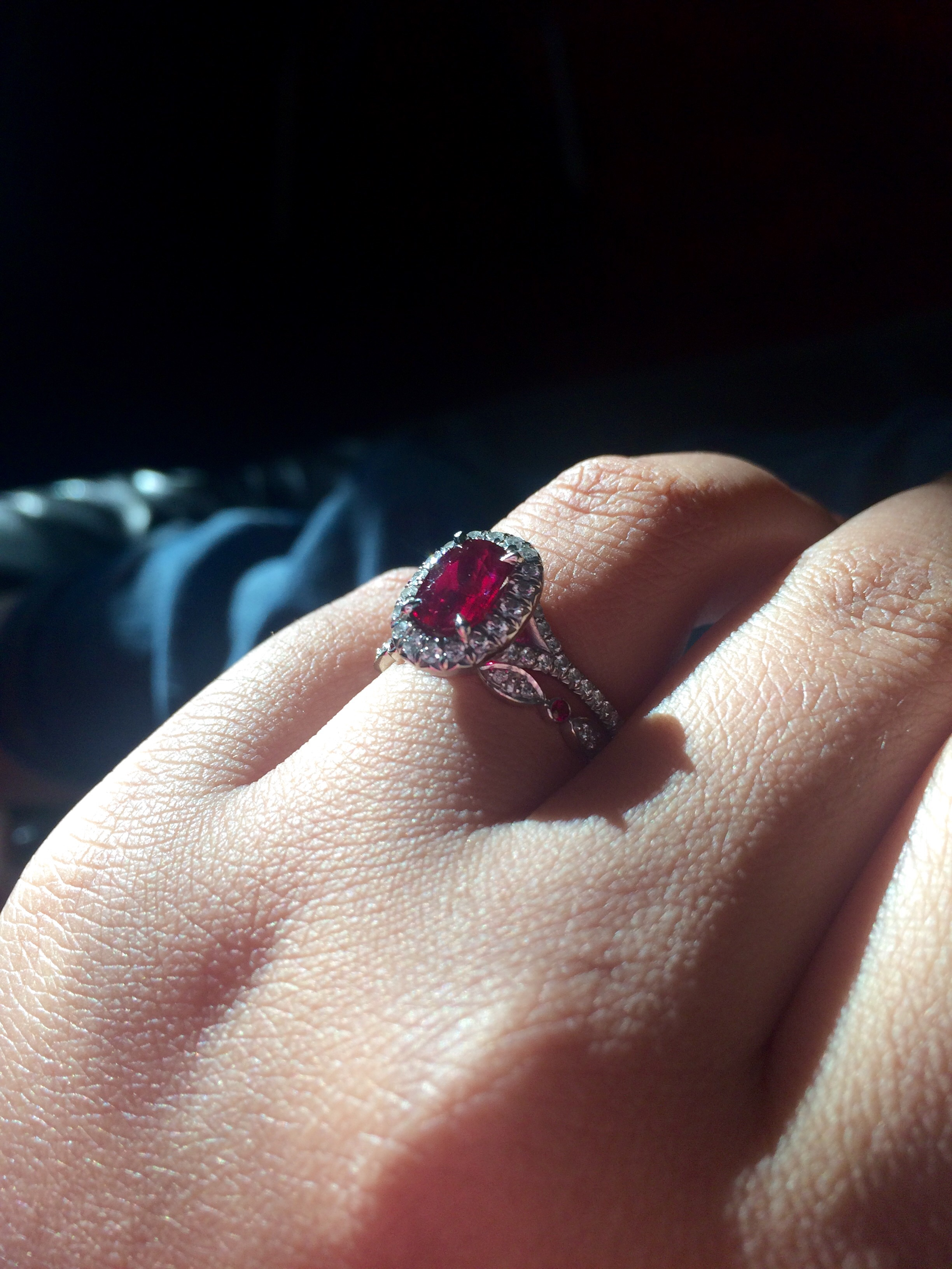 Beautiful Ruby Rings For The Ring Ceremony 16