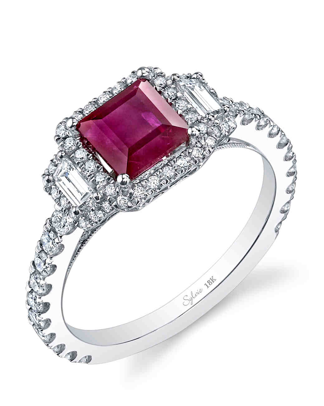 Beautiful Ruby Rings For The Ring Ceremony 17