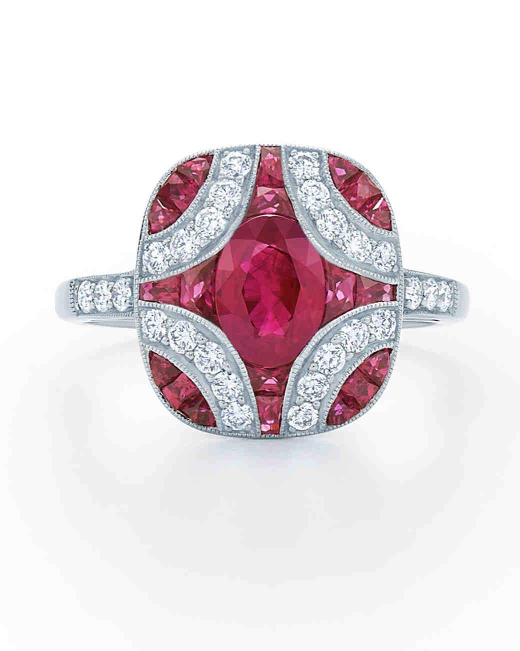 Beautiful Ruby Rings For The Ring Ceremony 19