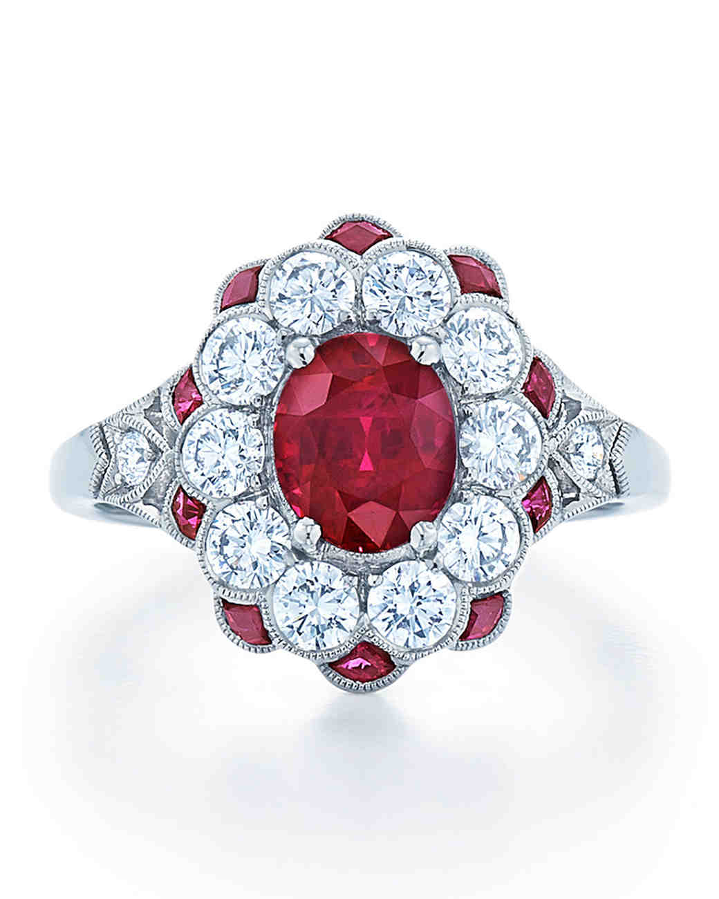 Beautiful Ruby Rings For The Ring Ceremony 8