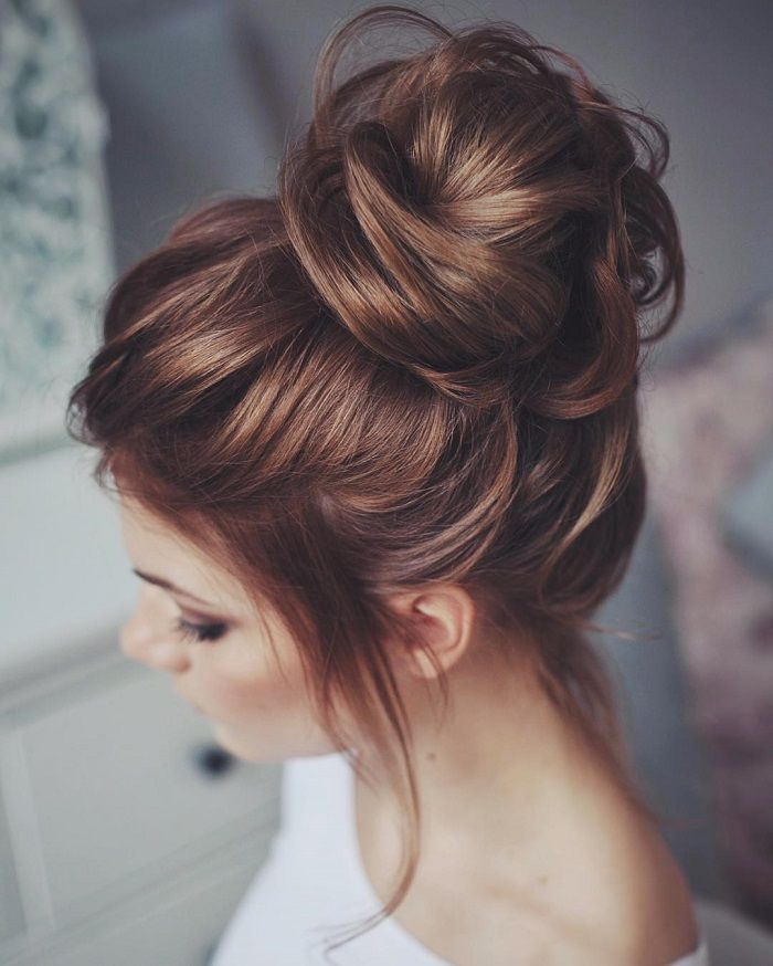 Beautiful Wedding updos for 2018 16