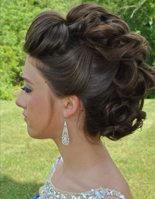 Beautiful Wedding updos for 2018 17