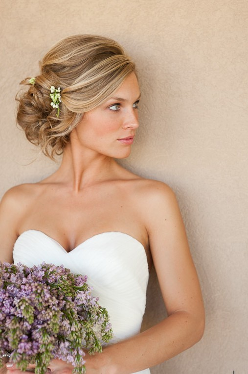 Beautiful Wedding updos for 2018 22