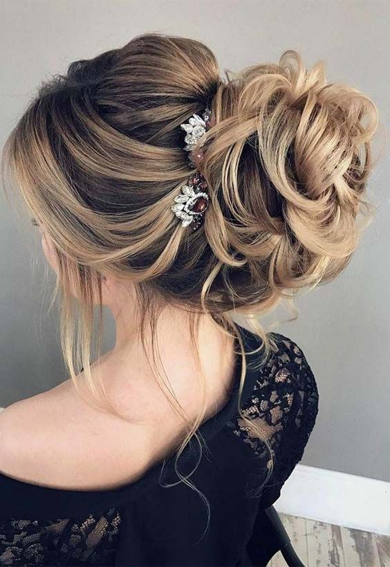 Beautiful Wedding updos for 2018 23