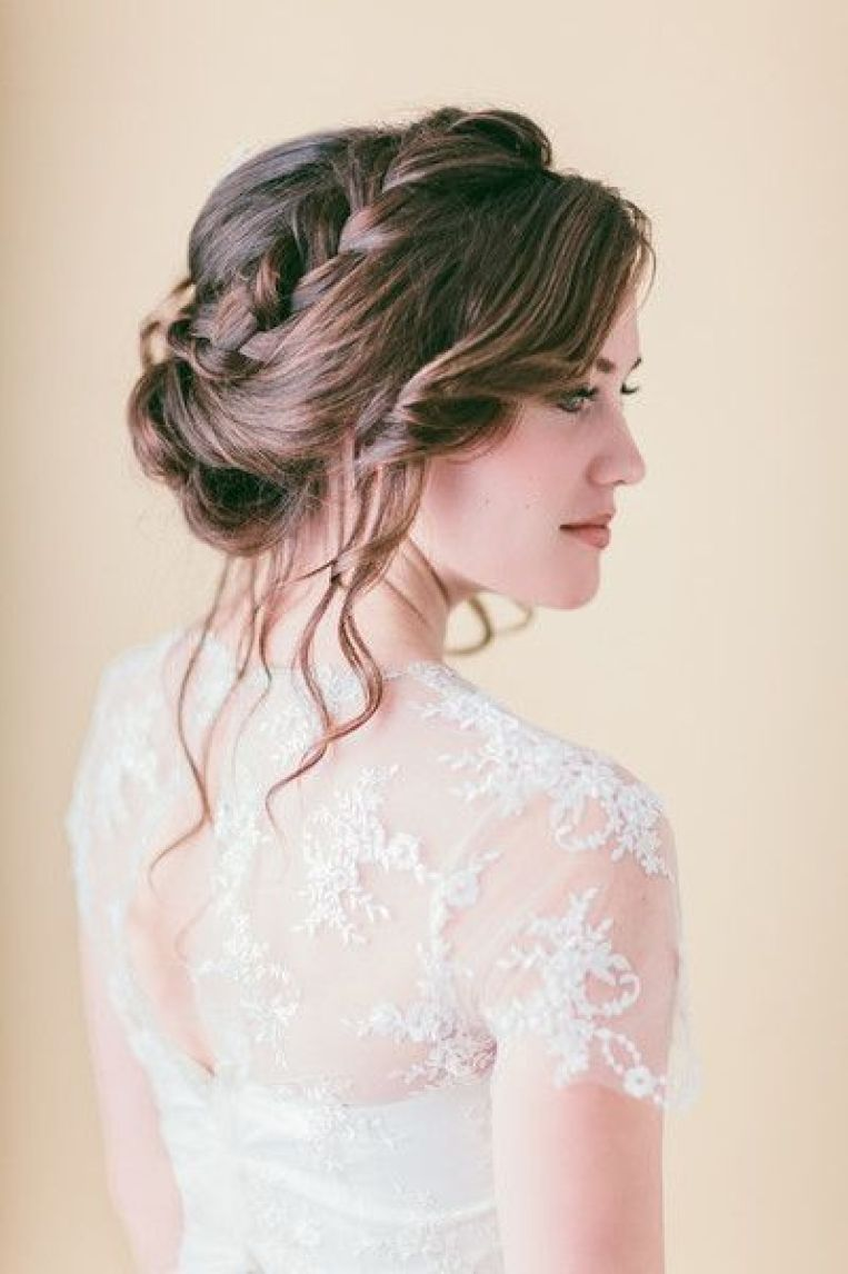 Beautiful Wedding updos for 2018 29