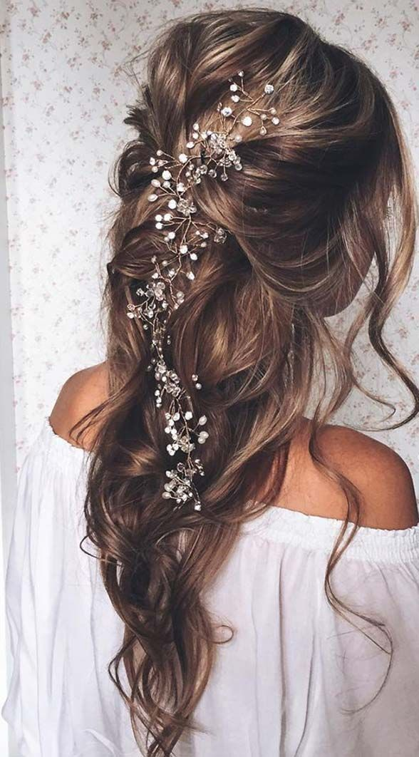 Beautiful Wedding updos for 2018 3