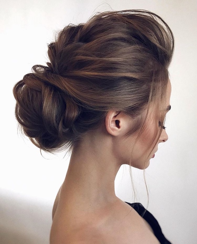 Beautiful Wedding updos for 2018 7