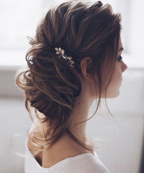 Beautiful Wedding updos for 2018 8