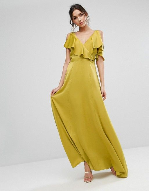 Beautiful yellow dresses this season 4