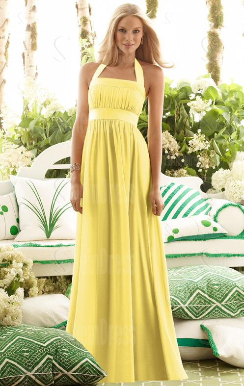 Beautiful yellow dresses this season 7