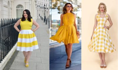42 Beautiful Yellow Dresses in 2018