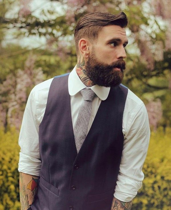 Best Men hairstyle with suits 2018 10