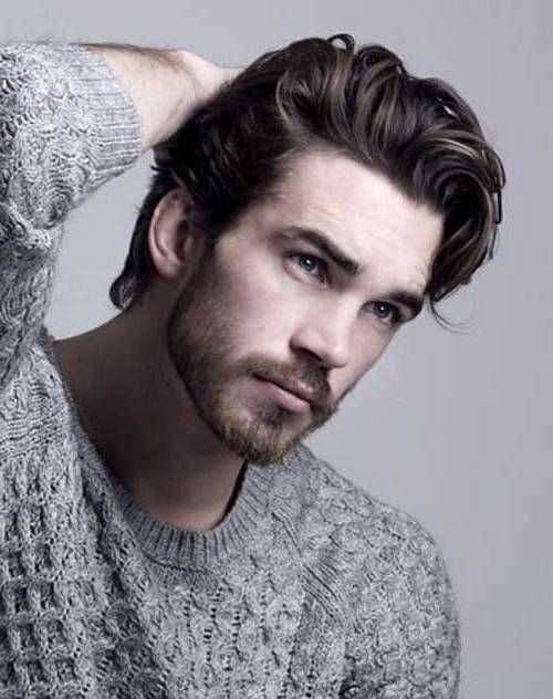 Best Men hairstyle with suits 2018 12