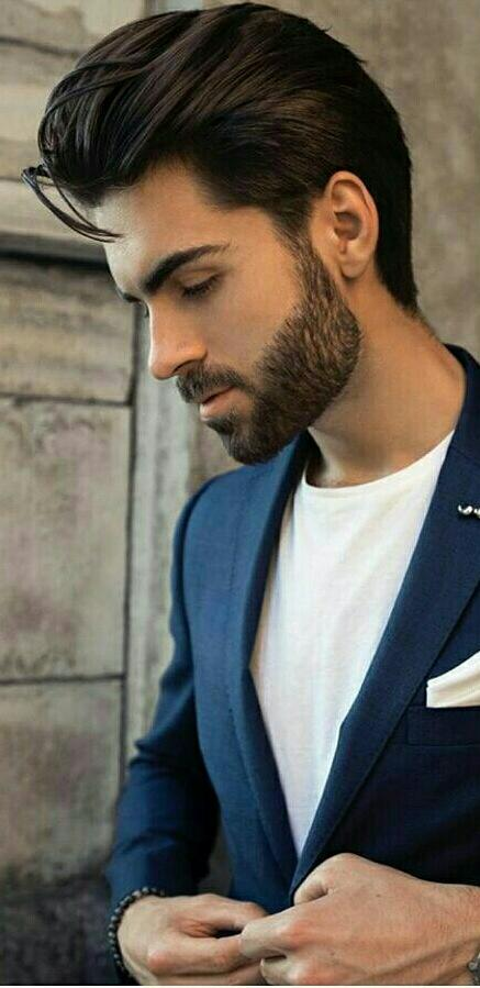 Best Men hairstyle with suits 2018 20