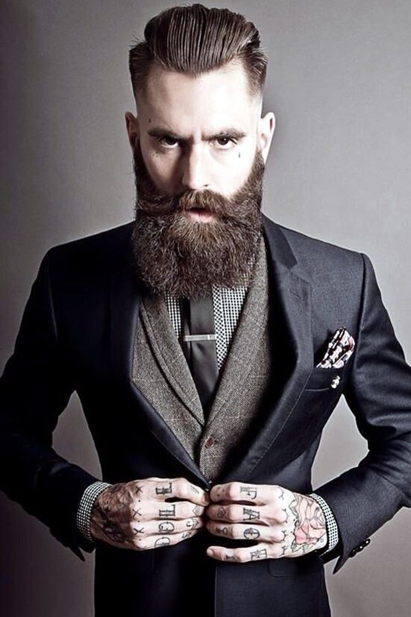 Best Men hairstyle with suits 2018 6