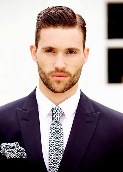 Best Men hairstyle with suits 2018 7