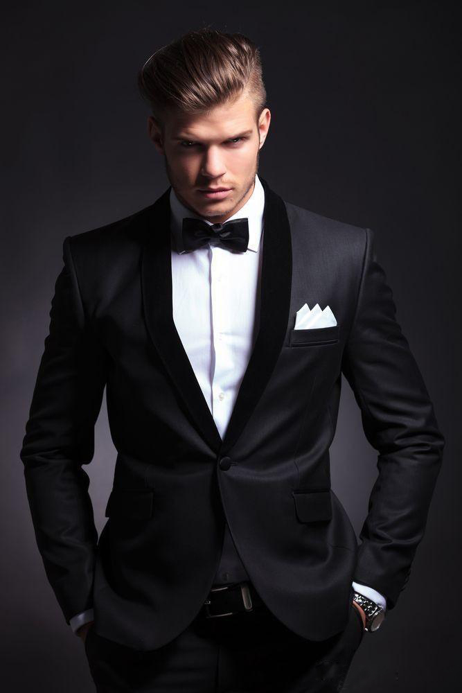 Best Men hairstyle with suits 2018 8
