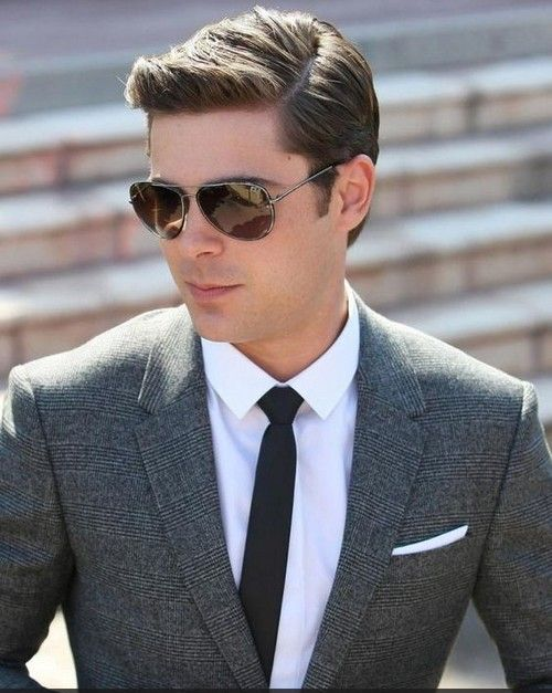 Best Men hairstyle with suits 2018 9