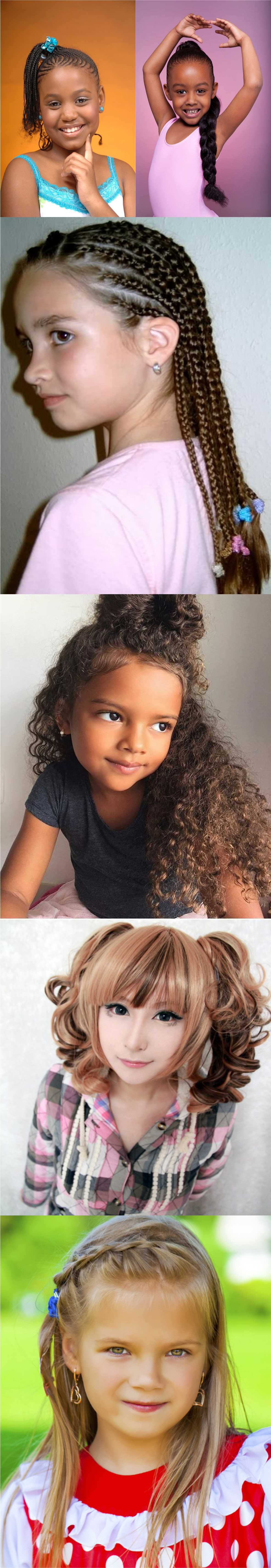 All New Cute pigtail hairstyle ideas for kids 2018
