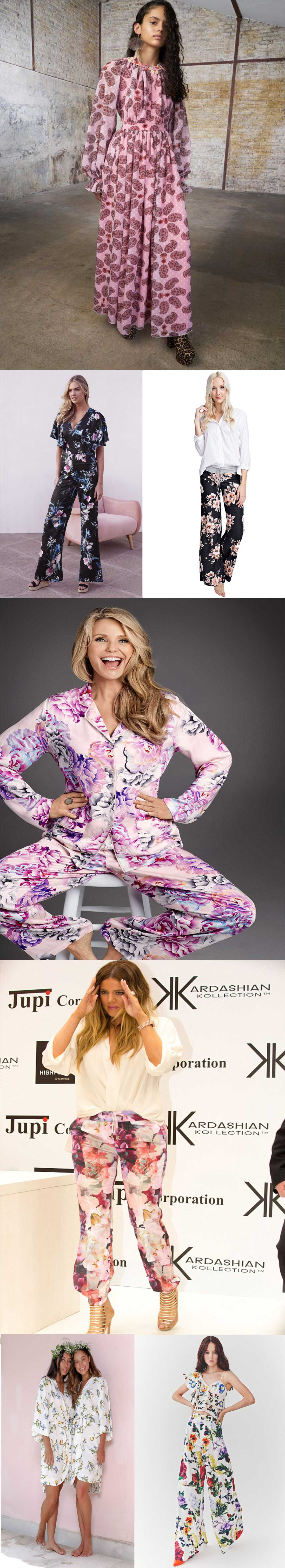All New Floral pajamas for girls to flaunt this summer 2018