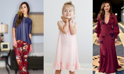 27 Floral Pajamas for girls to Flaunt this Summer 2018