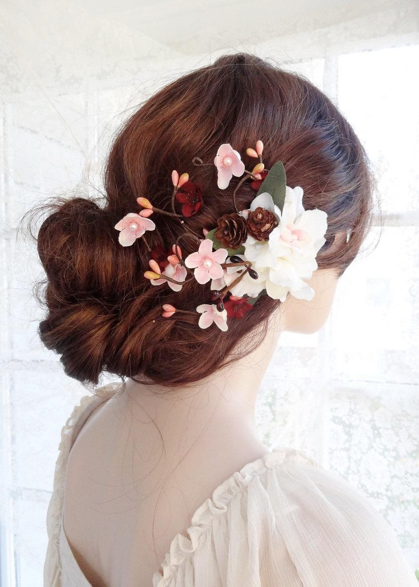 Amazing Floral hair accessories for holidays 2018 10