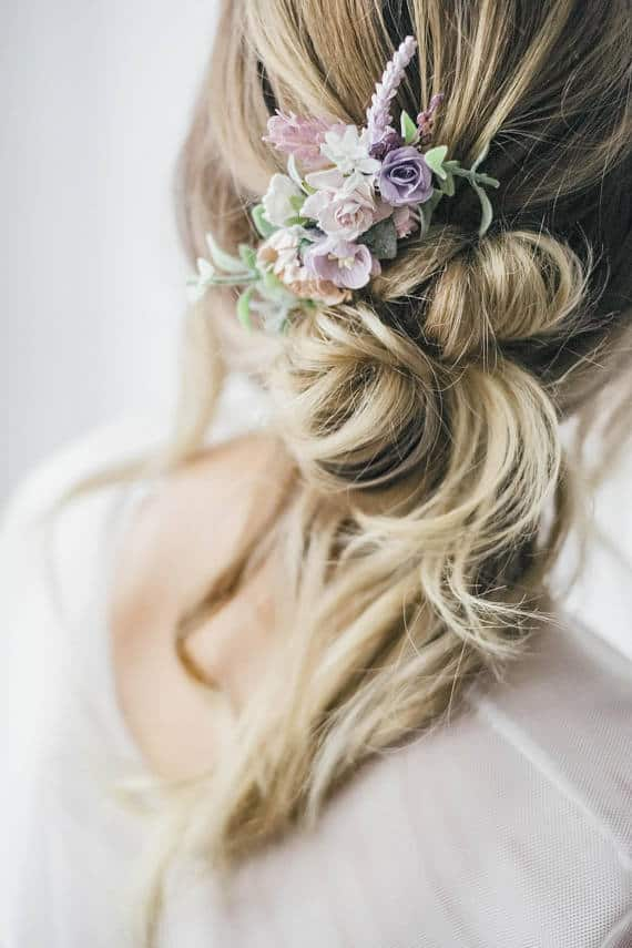 Amazing Floral hair accessories for holidays 2018 12