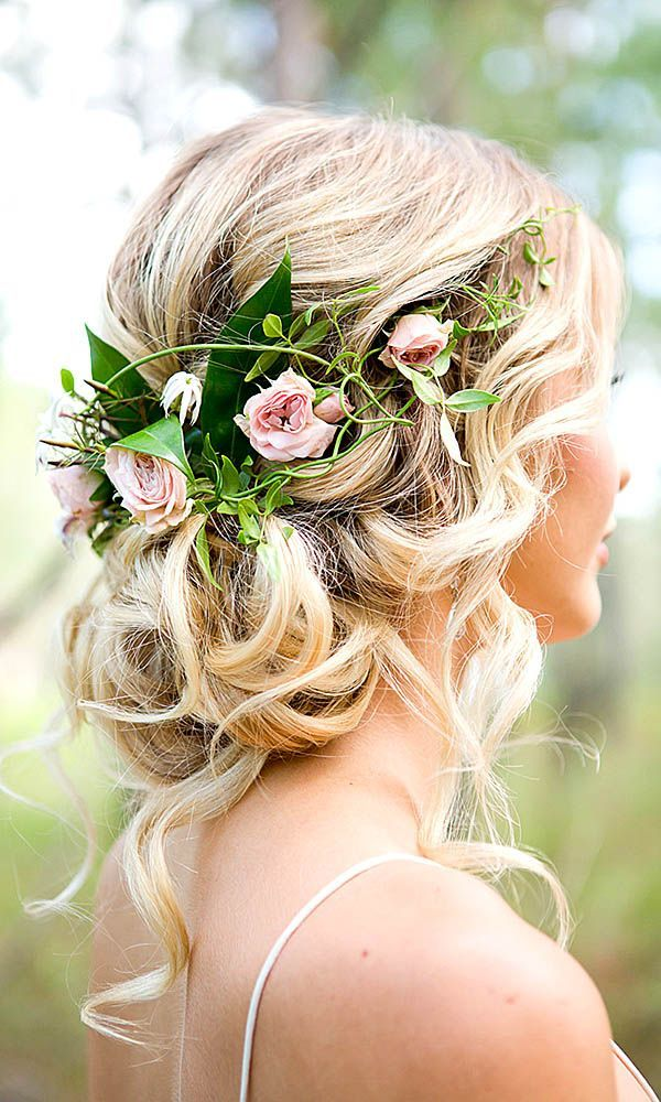 Amazing Floral hair accessories for holidays 2018 15