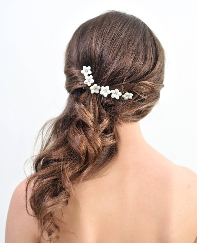 Amazing Floral hair accessories for holidays 2018 18