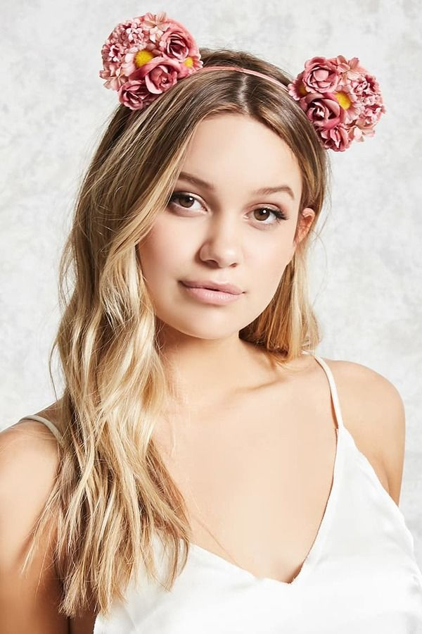 Amazing Floral hair accessories for holidays 2018 2