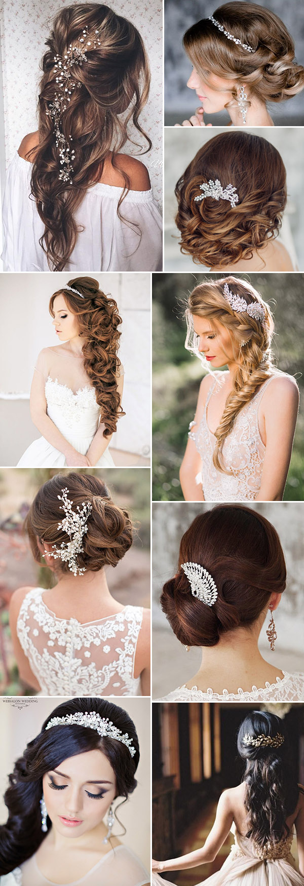 Amazing Floral hair accessories for holidays 2018 3