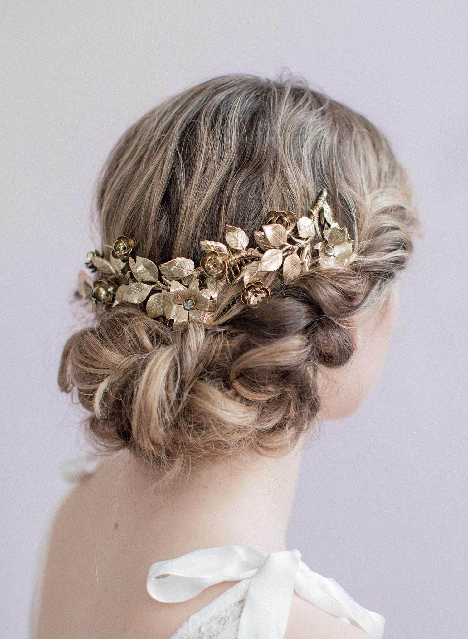 Amazing Floral hair accessories for holidays 2018 5