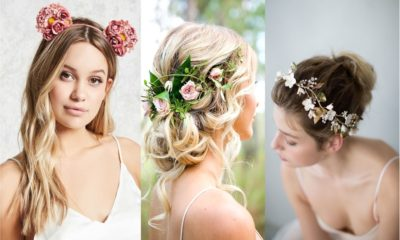27 Amazing Floral Hair Accessories for holidays 2018