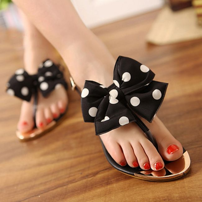 Cute flat footwear for girls 2018 25