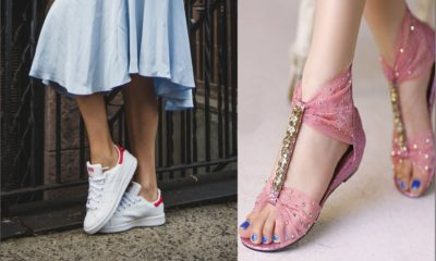 36 Cute Flat Footwear for Girls Not to Miss out 2018