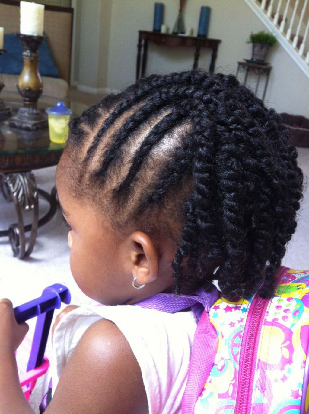 Cute pigtail hairstyle ideas for kids 2018 16