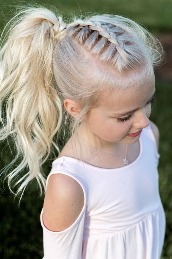 Cute pigtail hairstyle ideas for kids 2018 23