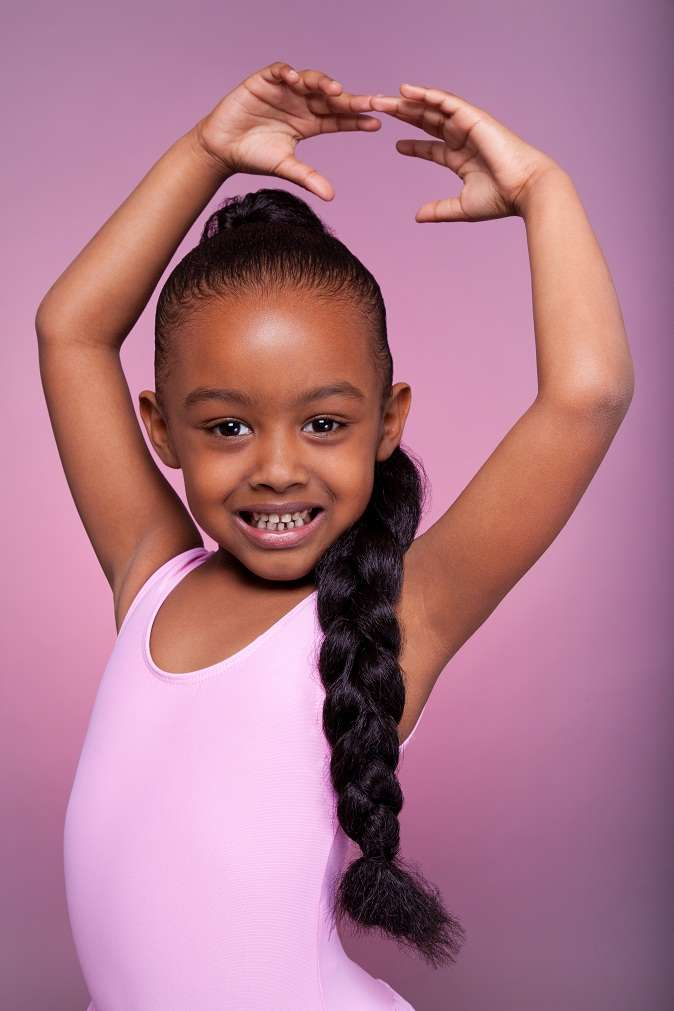 Cute pigtail hairstyle ideas for kids 2018 7