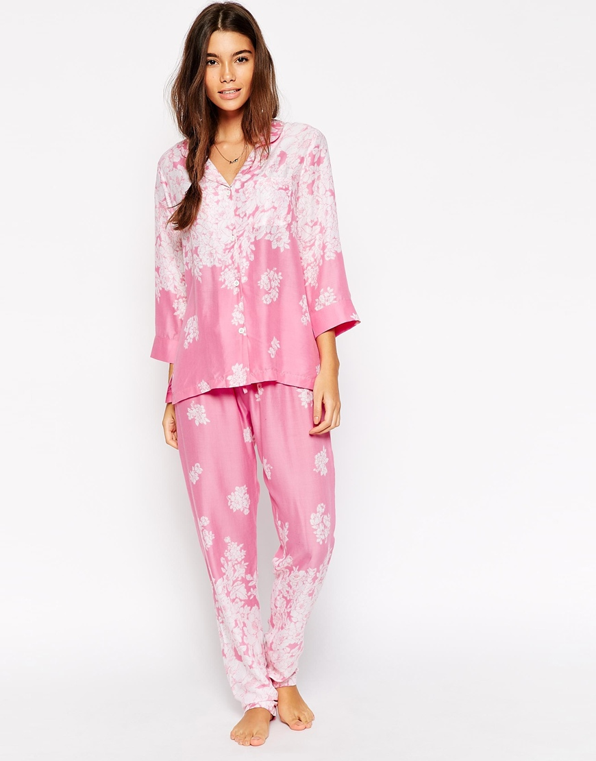 Floral pajamas for girls to flaunt this summer 2018 1