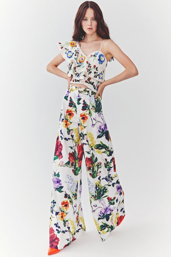 Floral pajamas for girls to flaunt this summer 2018 4