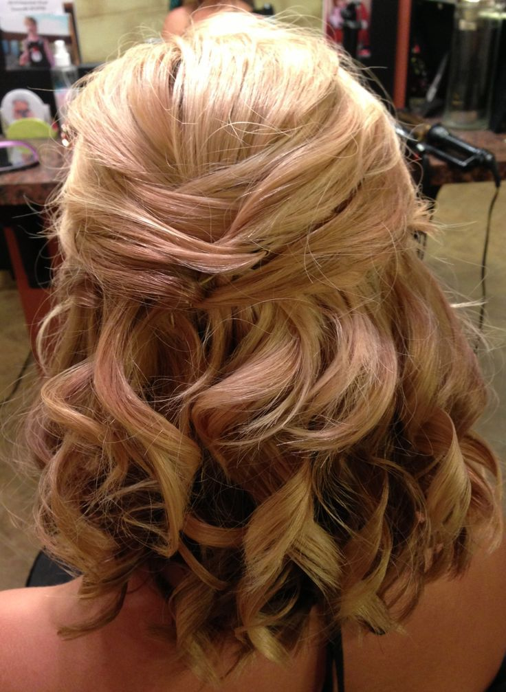 Gorgeous Half up Half down Hairstyles 2008 2
