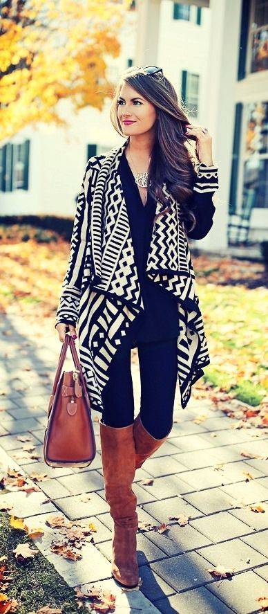 Lovely Fall Outfit for Women 2018