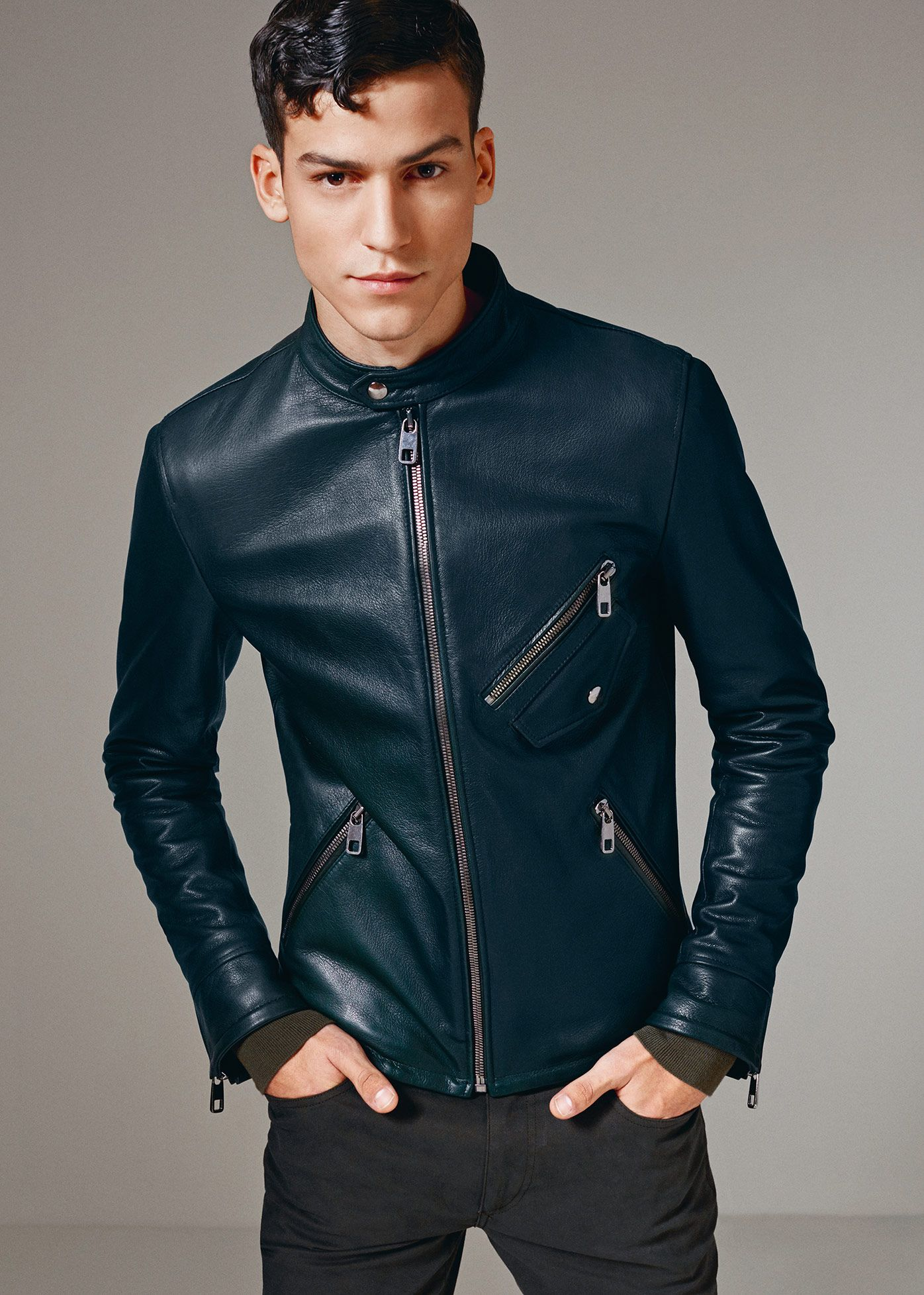 Men's Leather Jackets for Winter 2018 1
