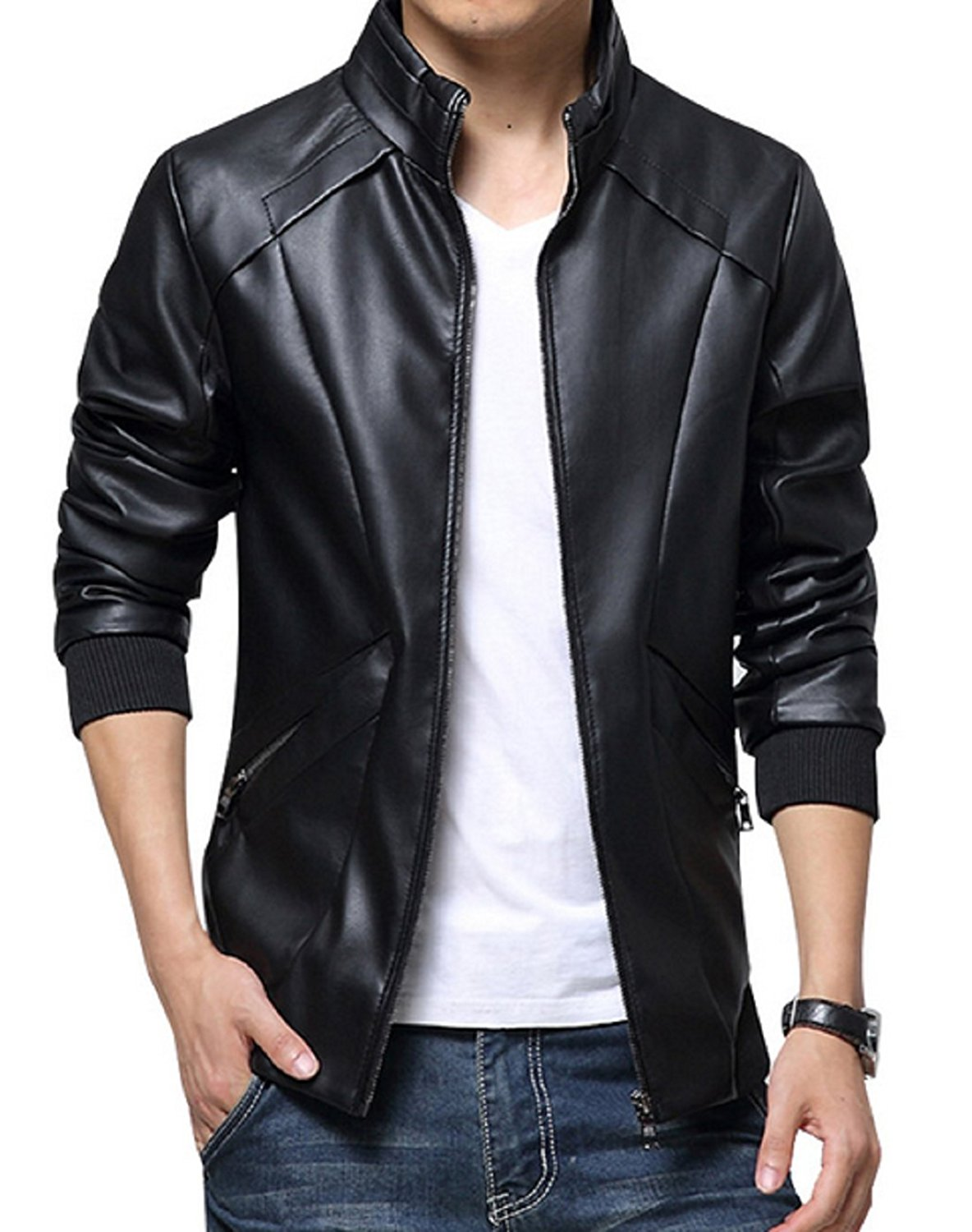 Men's Leather Jackets for Winter 2018 12