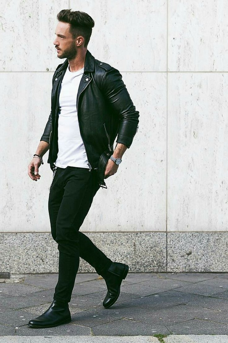 Men's Leather Jackets for Winter 2018 28