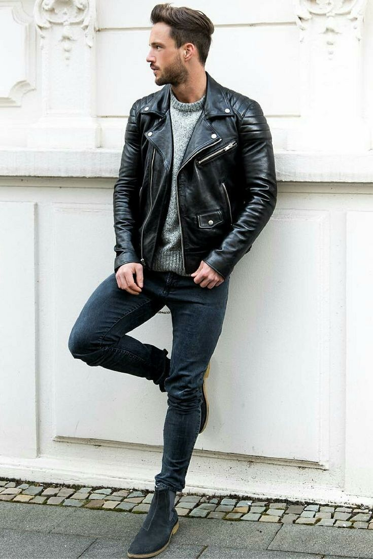 Men's Leather Jackets for Winter 2018