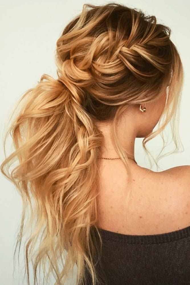21 Messy Ponytail Ideas To Flaunt This Season 2018
