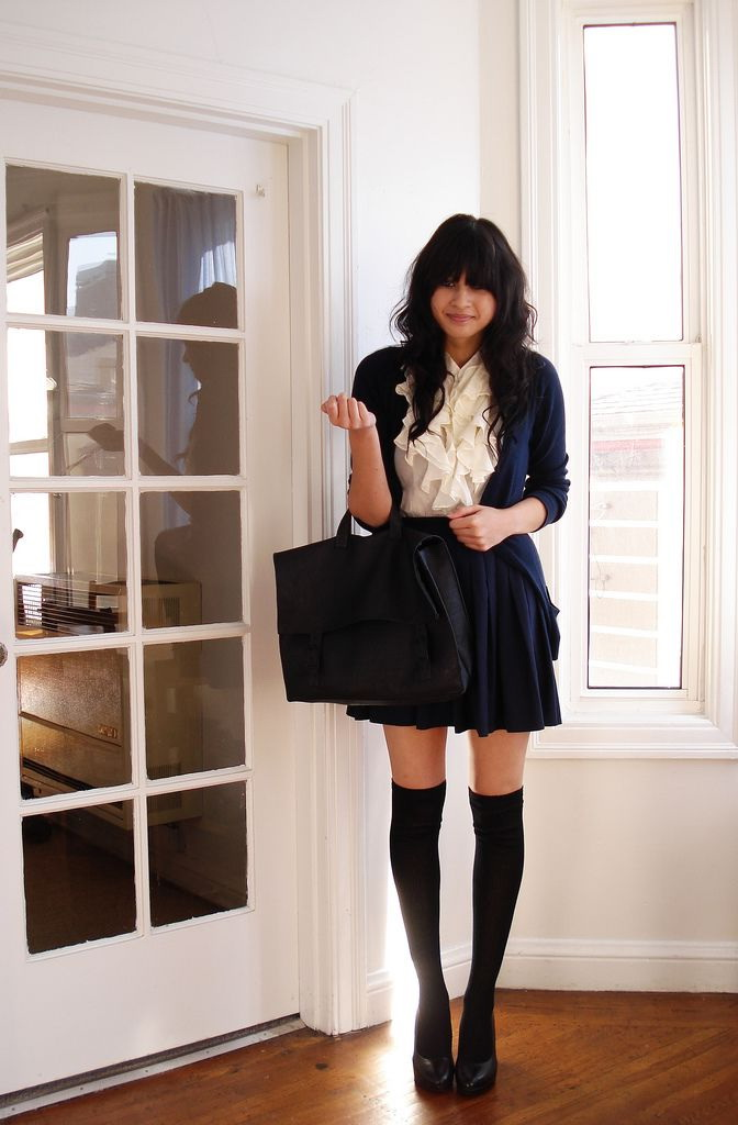Pretty and stylish outfits for school girls 2018 11