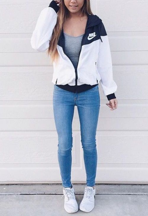 Pretty and stylish outfits for school girls 2018 3