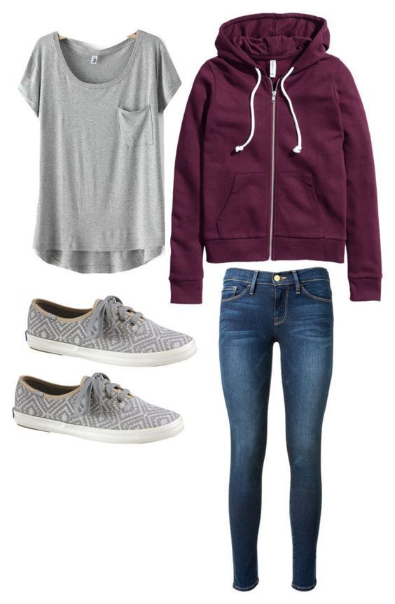 Pretty and stylish outfits for school girls 2018 31
